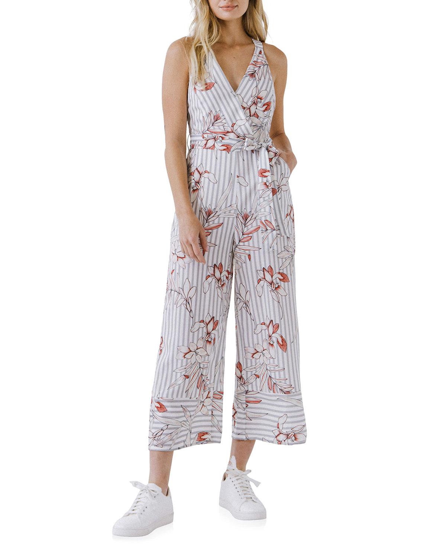 Lily Stripe Wide-Leg Jumpsuit