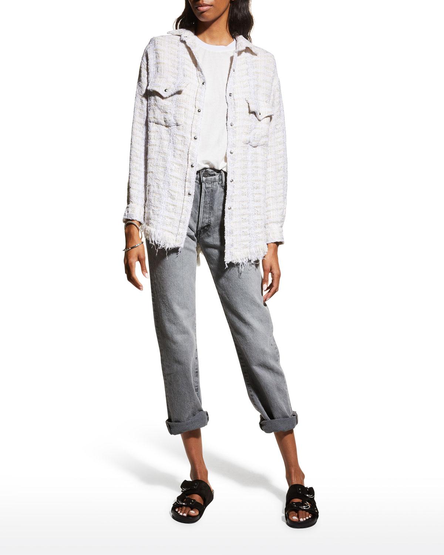 Marsh Tweed Shirt Jacket