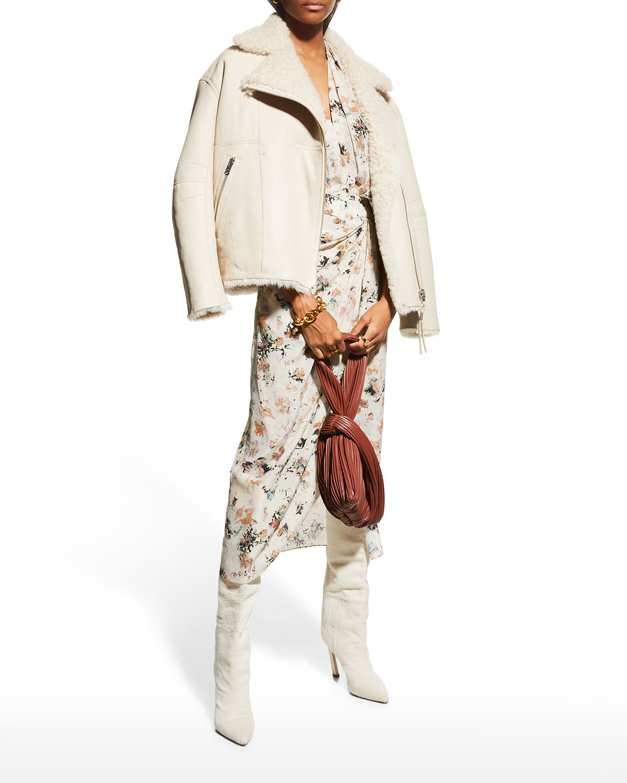 Itada Shearling Leather Jacket