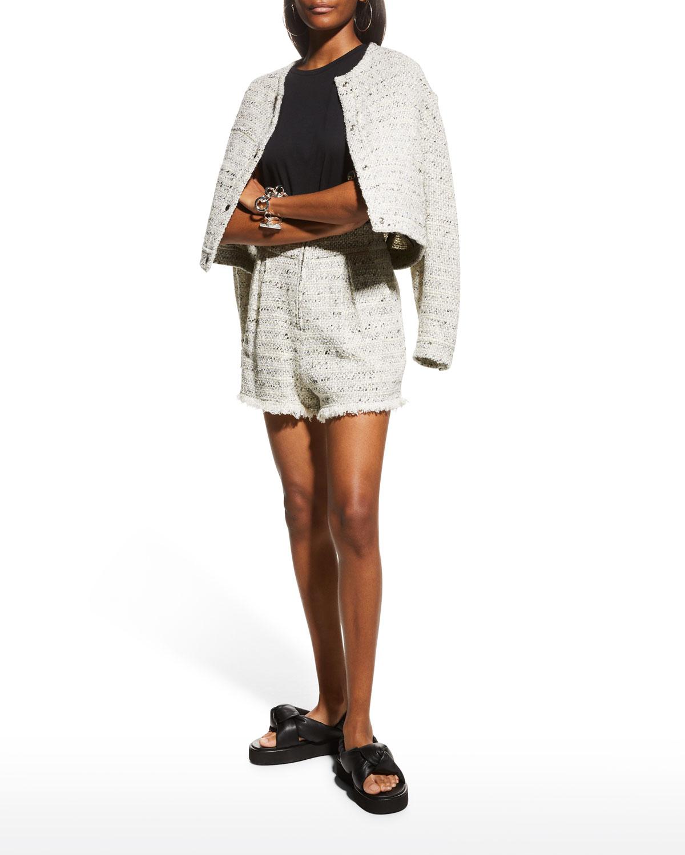 Tomma Cropped Tweed Jacket