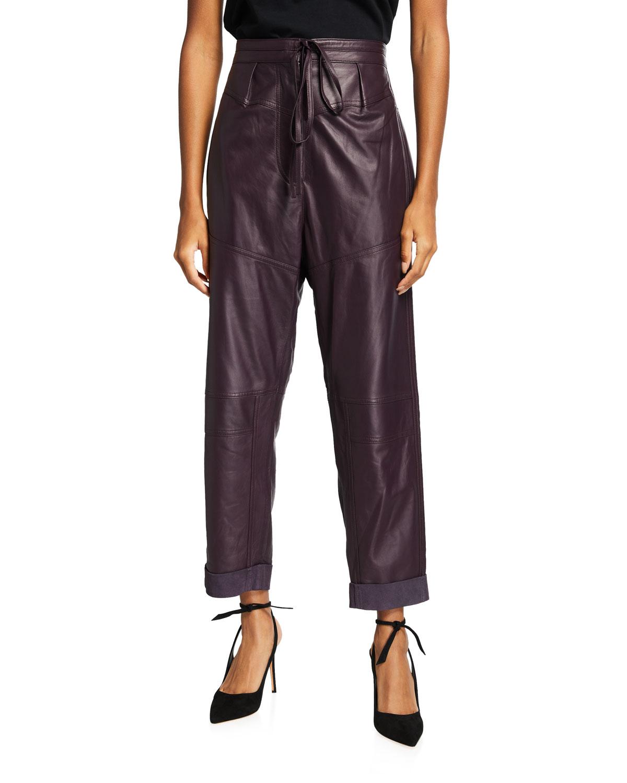 Hosho Leather Pants