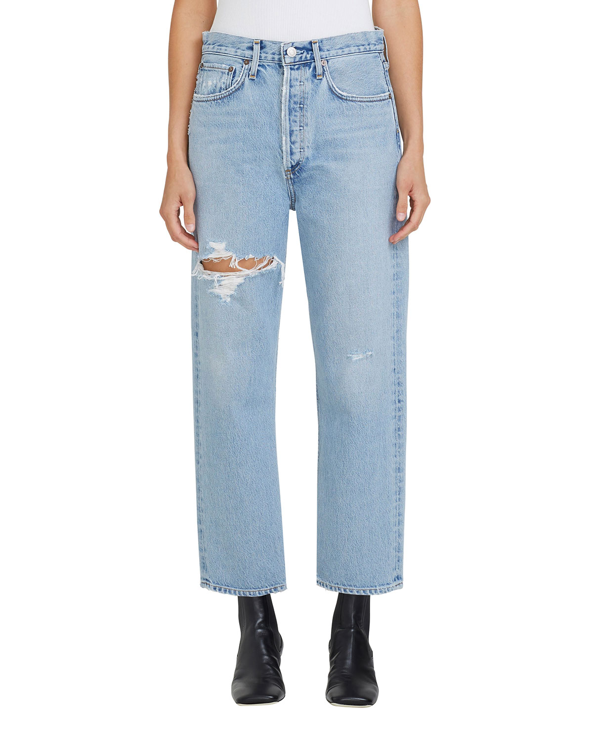 90s Cropped Jeans