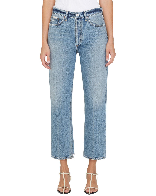 Lana Mid-Rise Crop Jeans