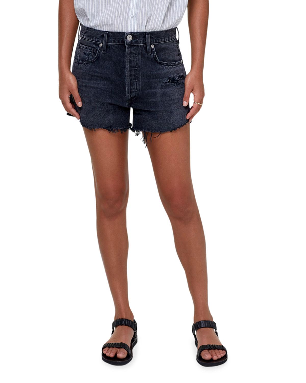 Marlow Vintage-Fit Denim Shorts