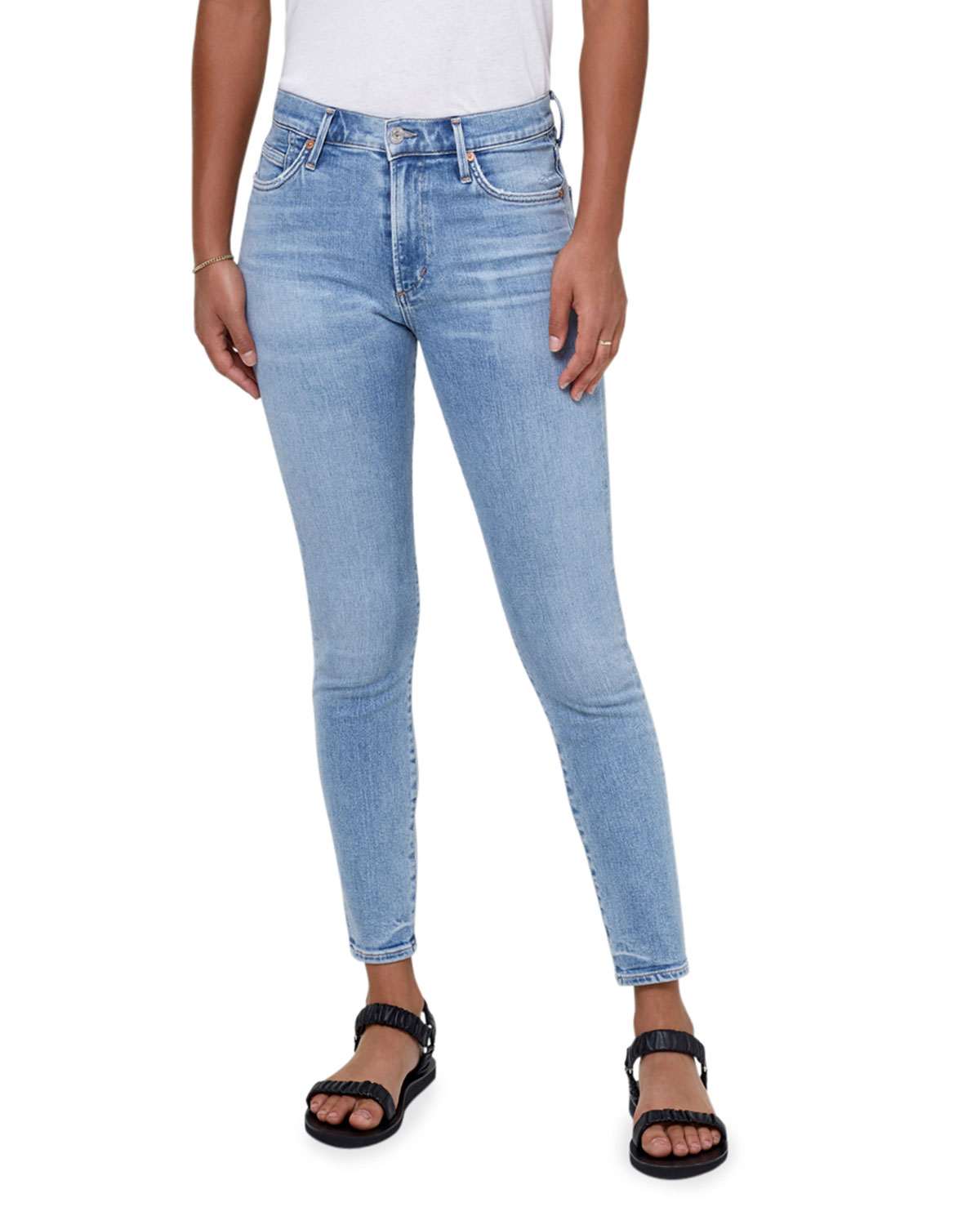 Rocket Mid-Rise Ankle Skinny Jeans