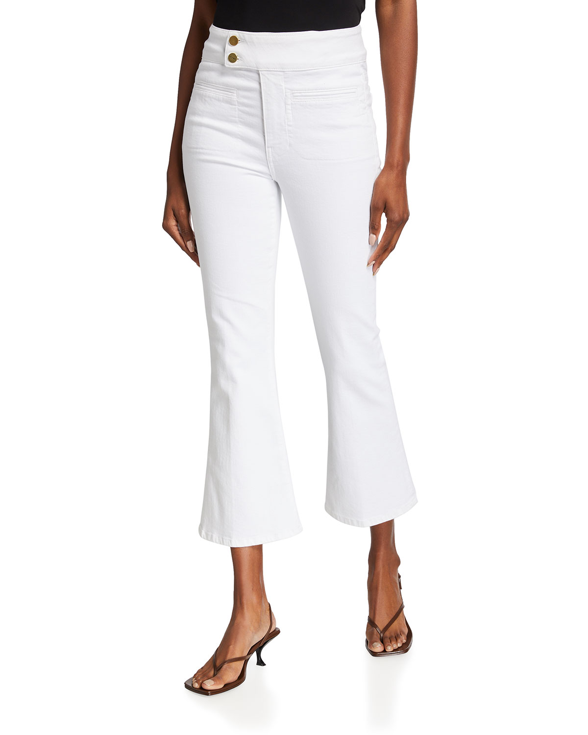 Le Hardy Crop Flare Jeans