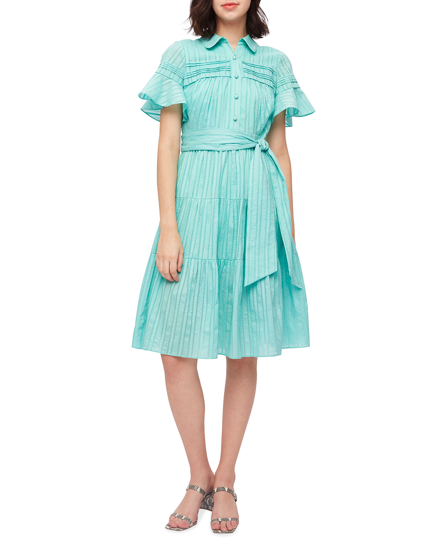Rachel Belted Knee-Length Shirtdress