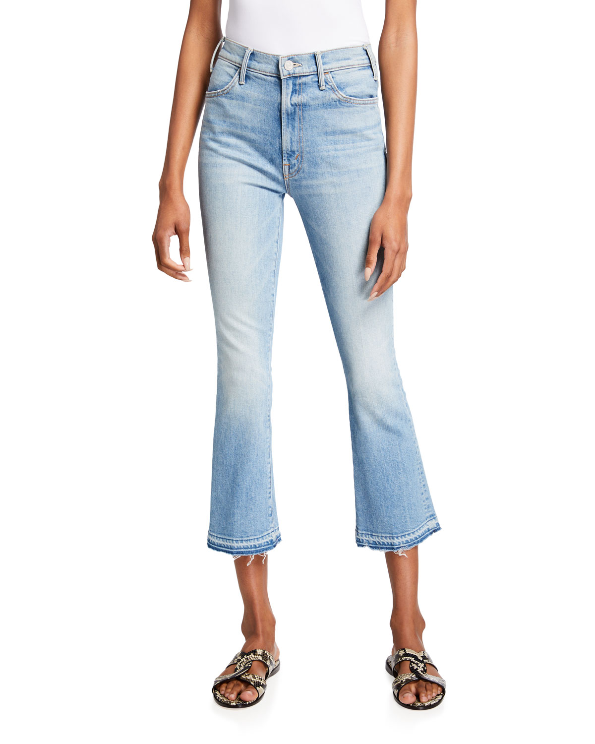 The Hustler Ankle Jeans with Undone