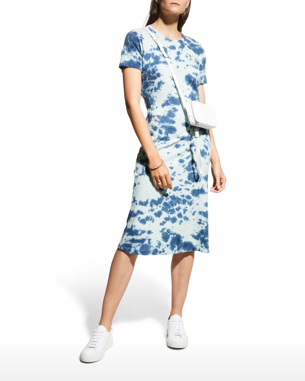The Little Goodie Goodie Tie-Dye Midi Dress