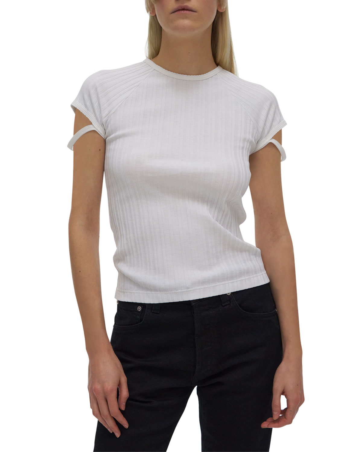Little Rib Tee with Straps