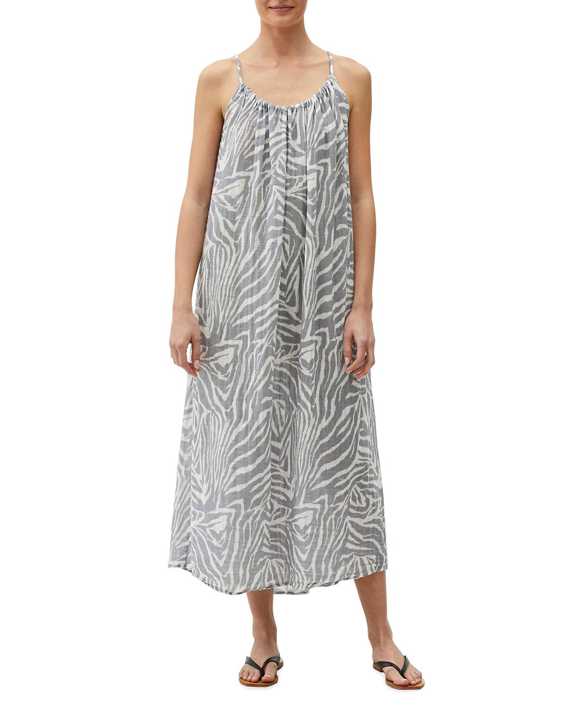 Naomi Printed Gauze Dress