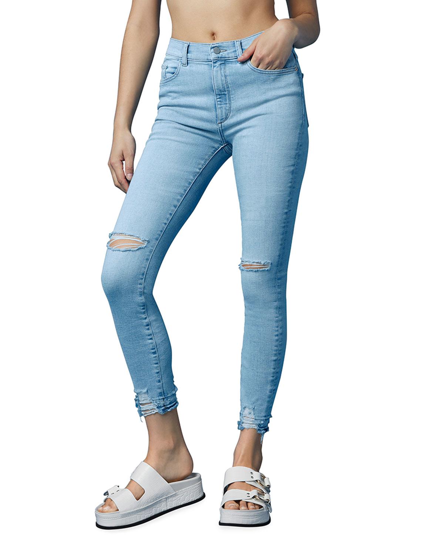 Farrow High-Rise Skinny Jeans