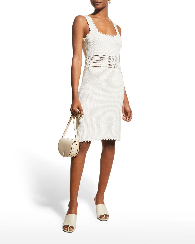Crochet Body-Con Dress