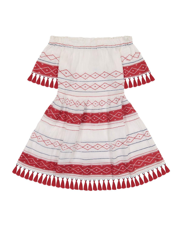 Suri Tassel Mini Coverup Dress