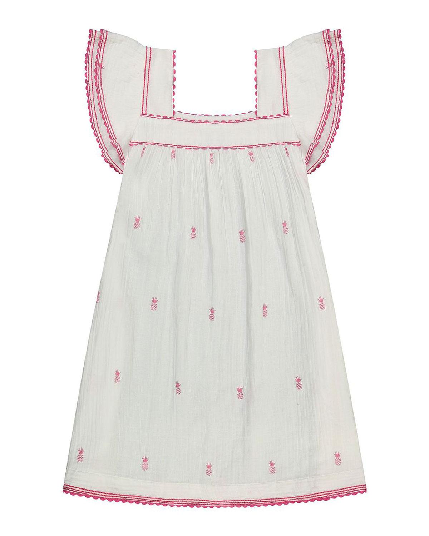 Sandrine Pineapple Coverup Mini Dress
