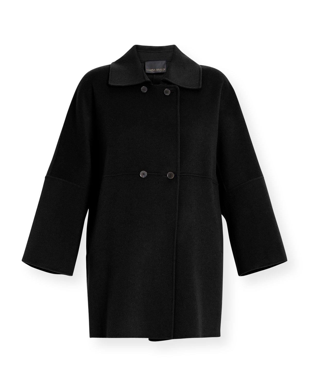 Plus Size Natalia Double-Breasted Coat