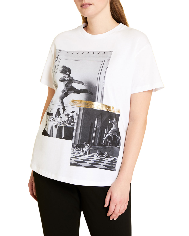 Plus Size Valore Graphic Jersey T-Shirt