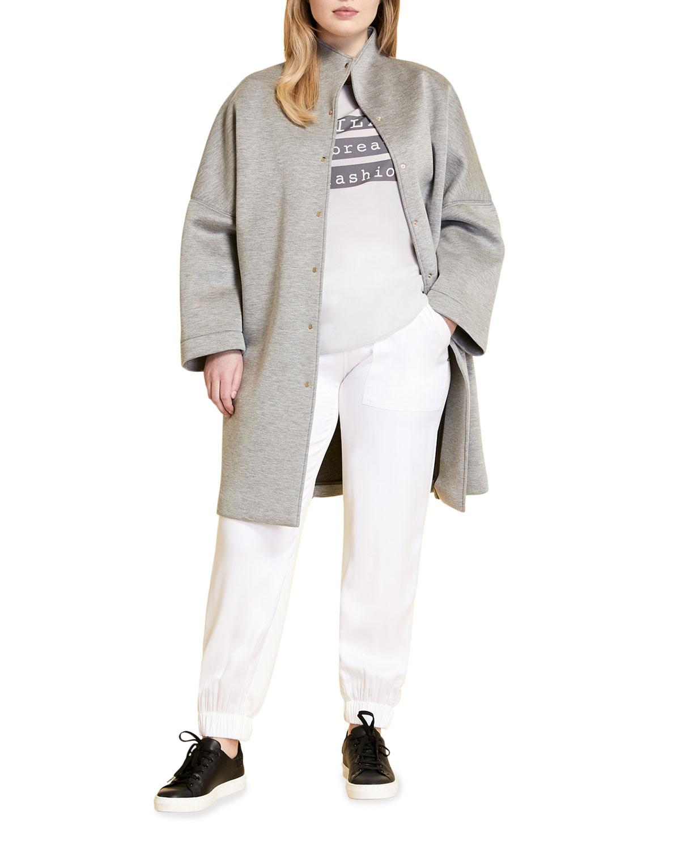 Plus Size Tamoa Neoprene Coat
