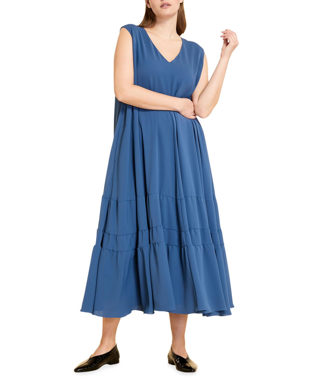 Plus Size Darwin Flared Midi Dress