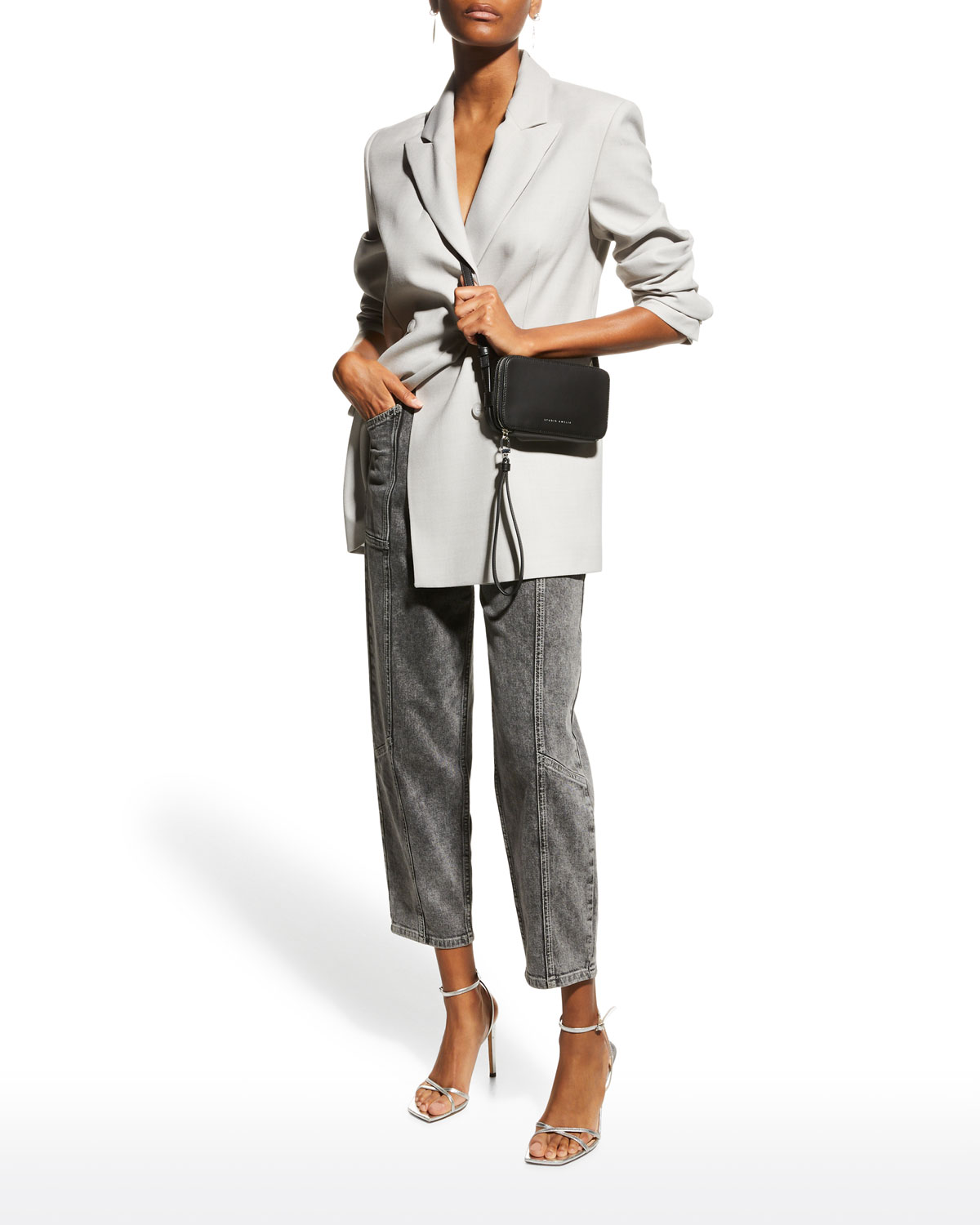 Bonnie Wool Double-Breasted Jacket
