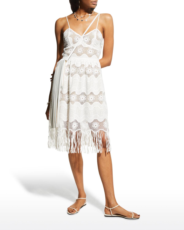 Hollis Lace Fringe Dress
