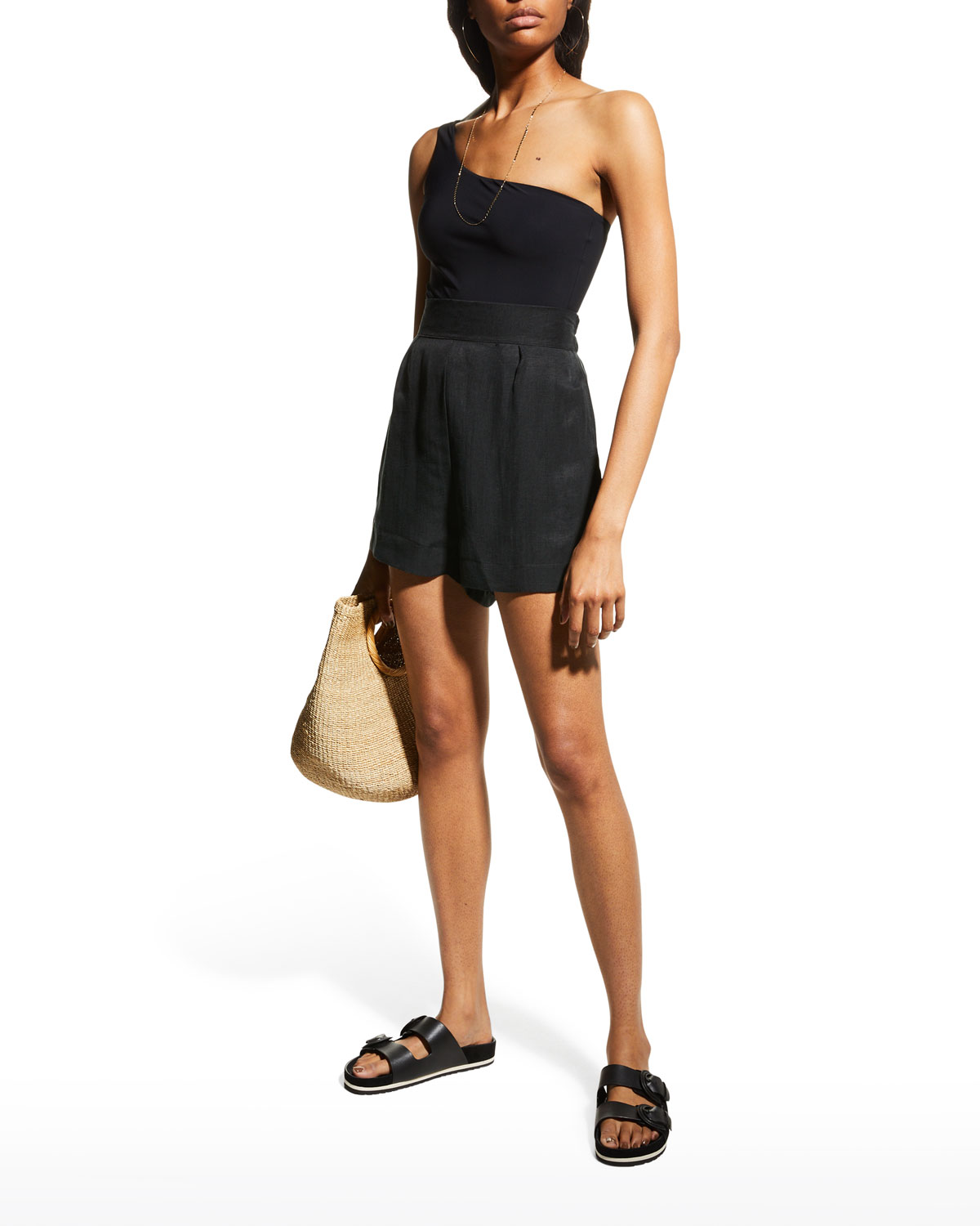 The High-Waisted Coverup Shorts