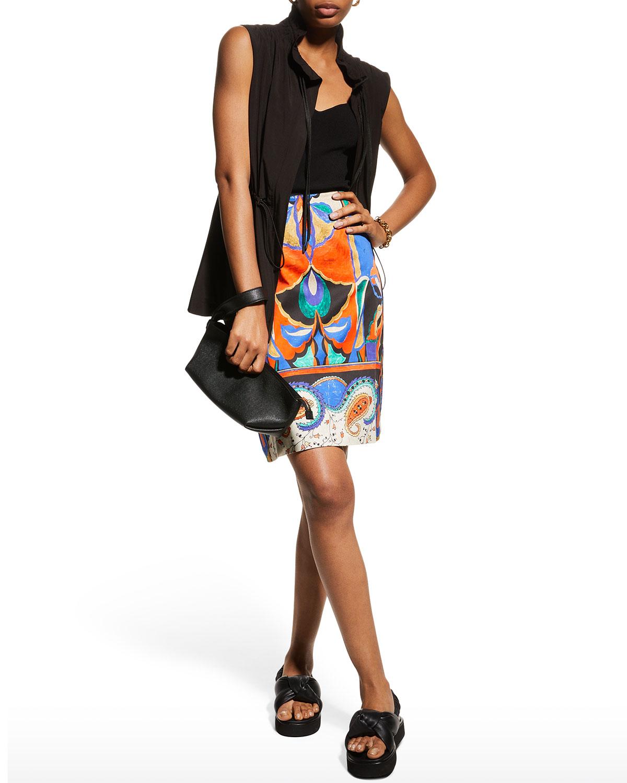 Jackie Printed Skirt