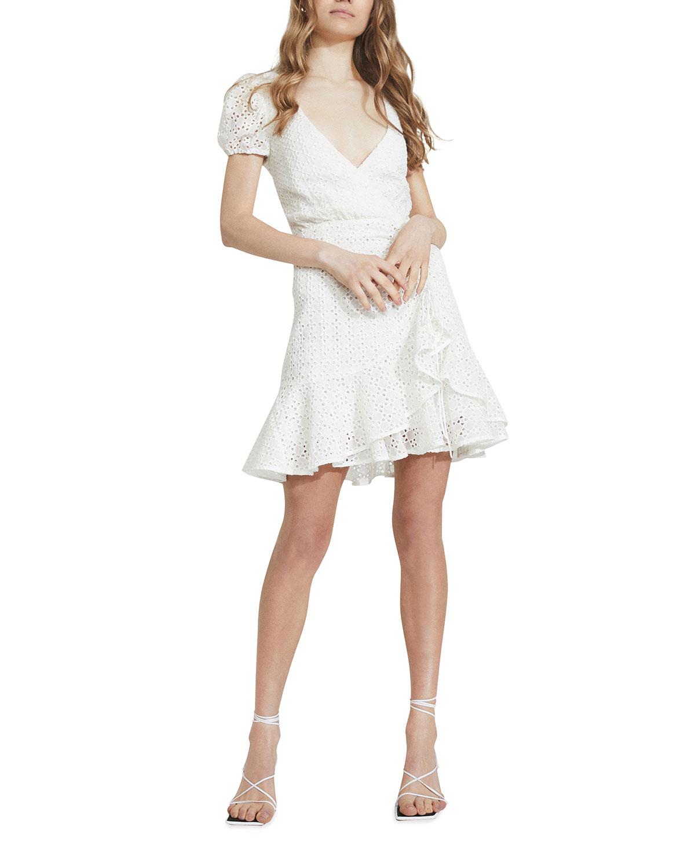 Nadia Tie-Back Mini Dress