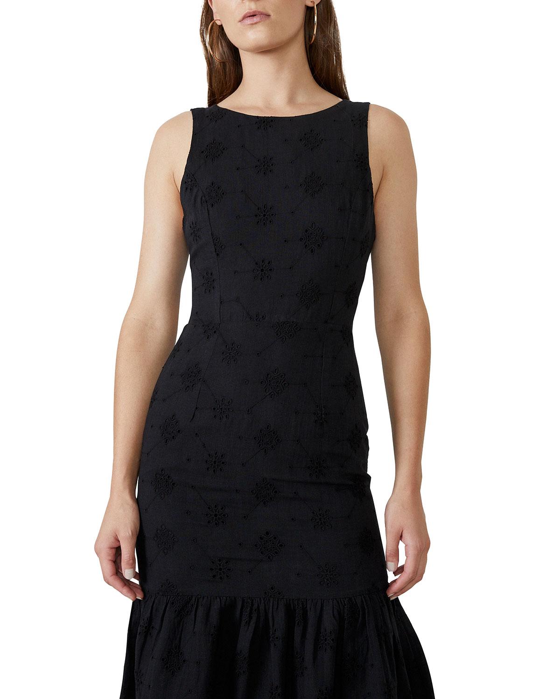 Reign Broderie Maxi Dress