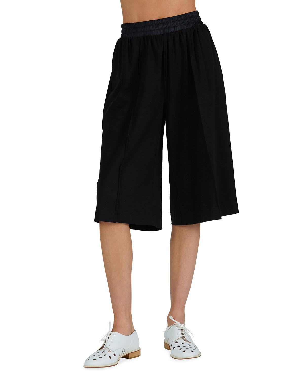 Pima Cotton Pull-On Bermuda Shorts
