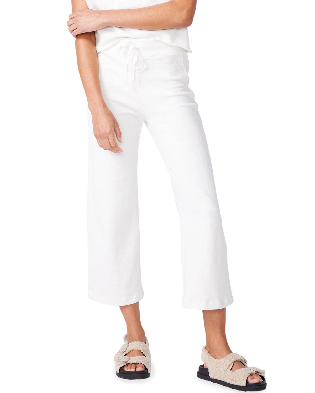 Wide-Leg Lounge Sweatpants