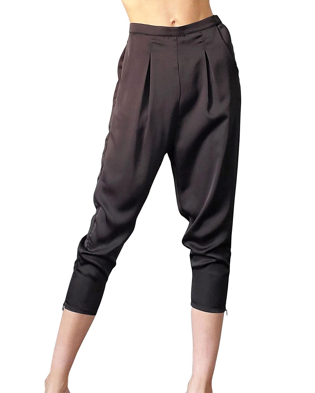 Brie Vegan Silk Pants