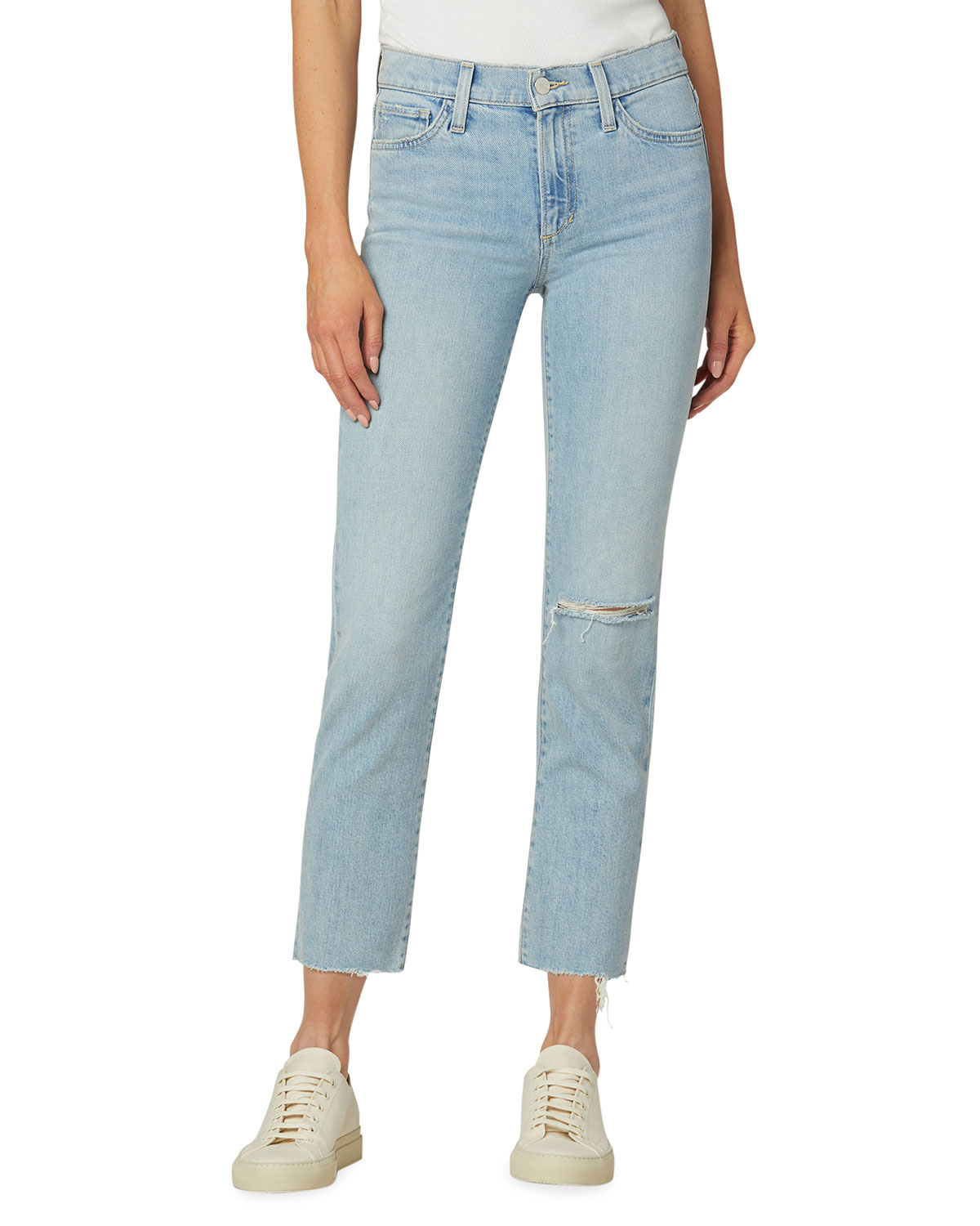 The Lara Cropped Mid-Rise Jeans