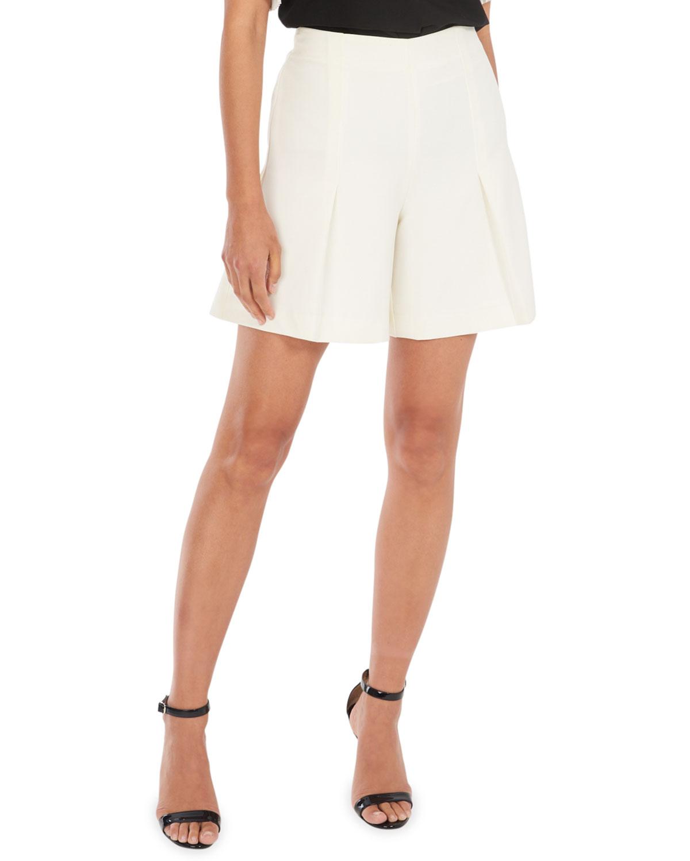 Pilar Cady Pleated Shorts