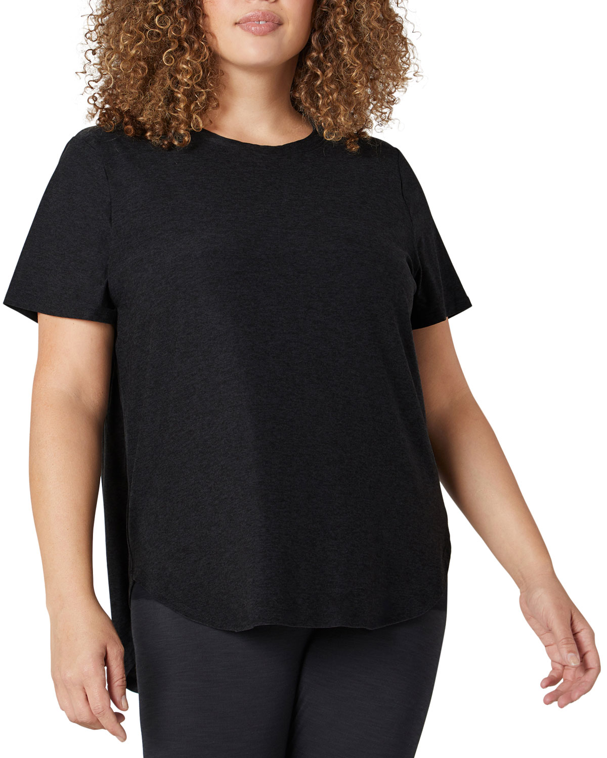 Plus Size On The Down Low Active Tee