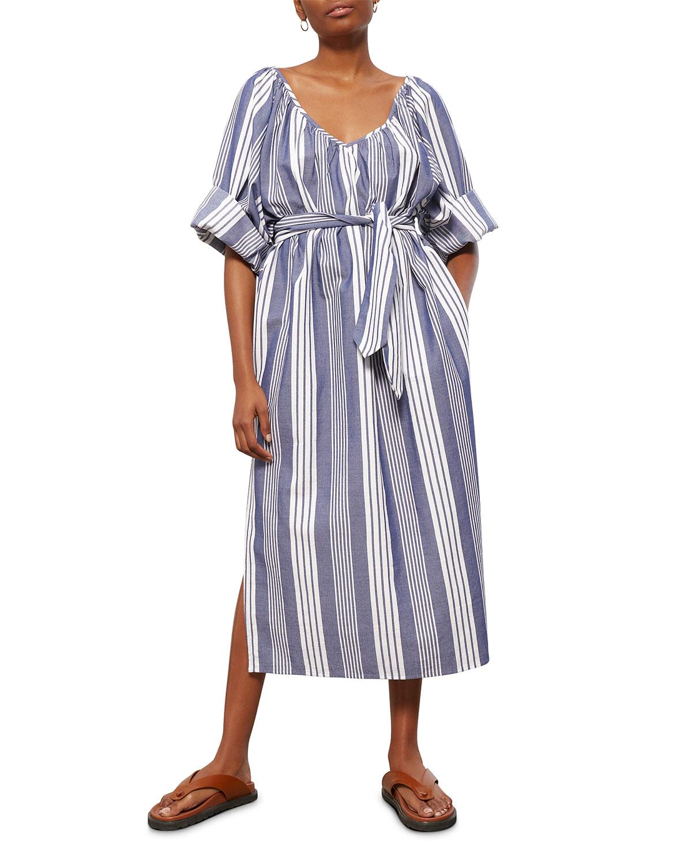 Luz Belted Column Coverup Dress