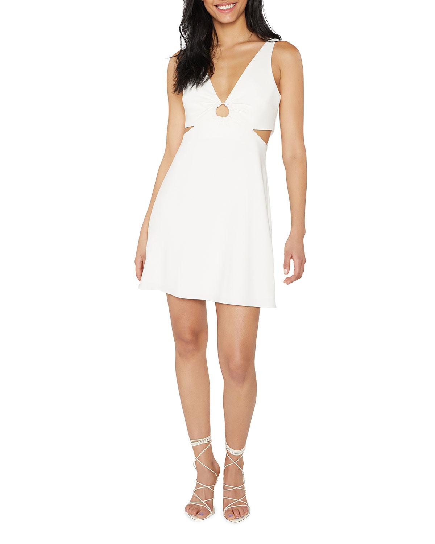 Driscoll Keyhole Mini Dress