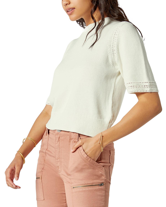 Feona Cotton-Cashmere Knit Top
