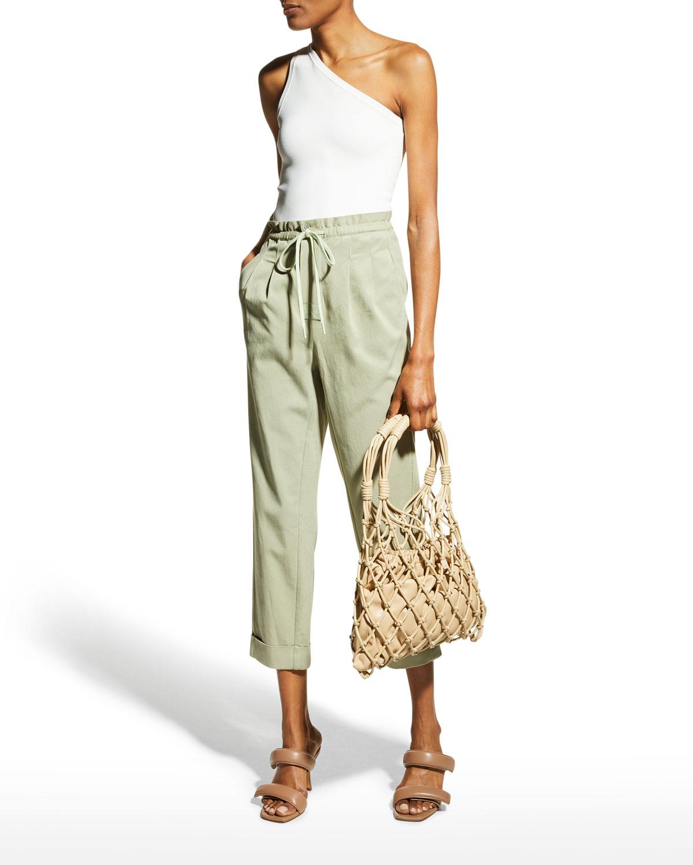 Liliana Cuffed Paperbag Pants