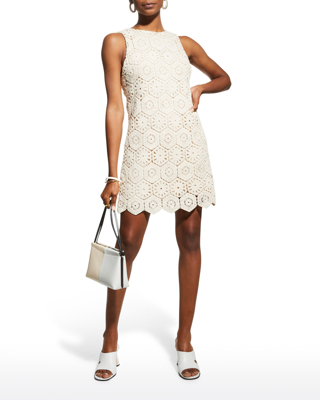 Clyde Crochet Shift Dress