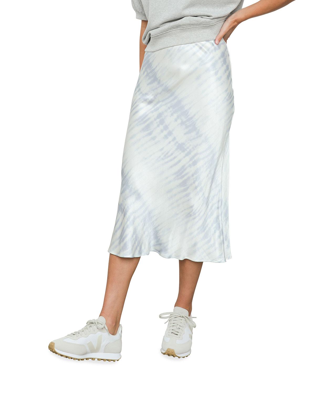 Anya Tie-Dye Slip Skirt