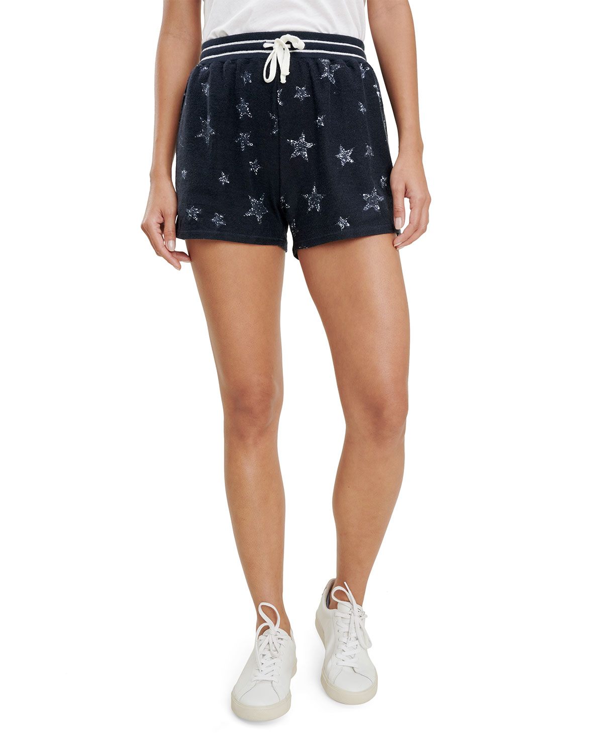Heritage Star-Print French Terry Shorts