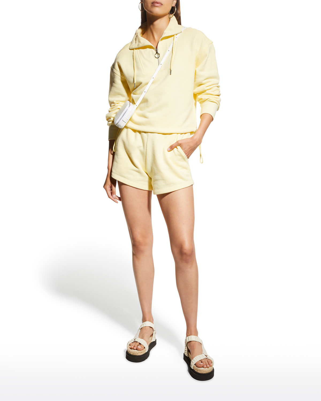 Evie Organic Terry Shorts