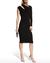 Neiman Marcus - Apparel for Her - Dresses - Shop By Occasion - Party Dress :  dresses ruffle bib dress
