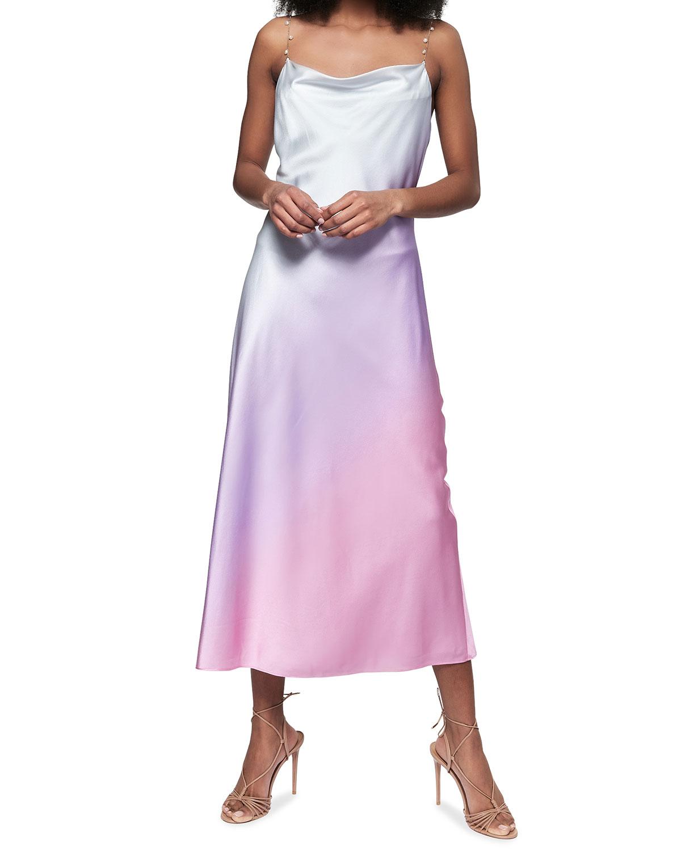 Shallon Bias-Cut Dress