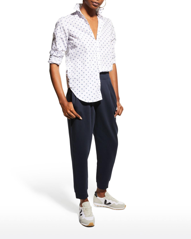 Frank Woven Button-Up Shirt