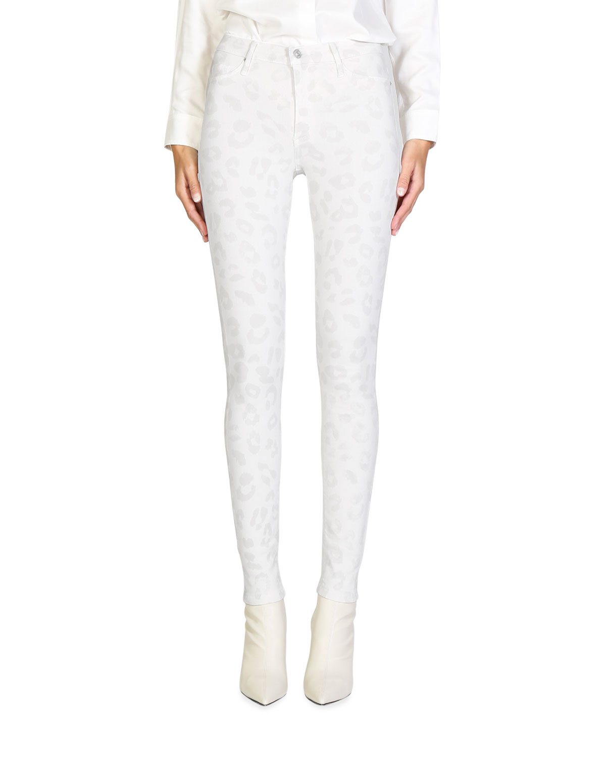 Giselle High-Rise Skinny Jeans
