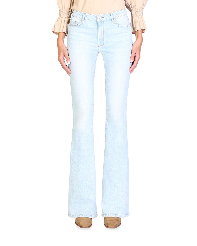 Mia Skinny Flare-Leg Jeans