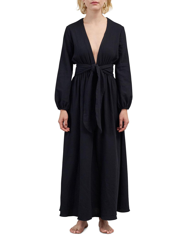 Luna Coverup Maxi Wrap Dress