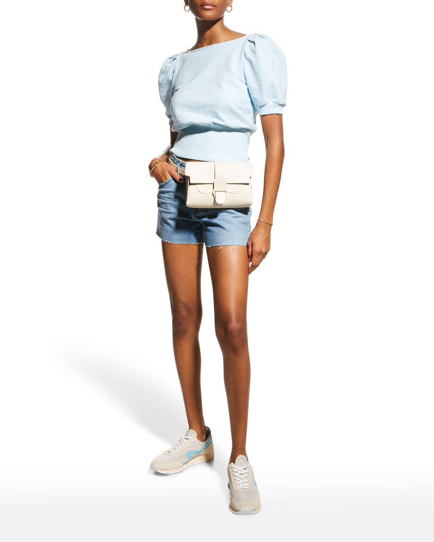 Becke Denim Shorts